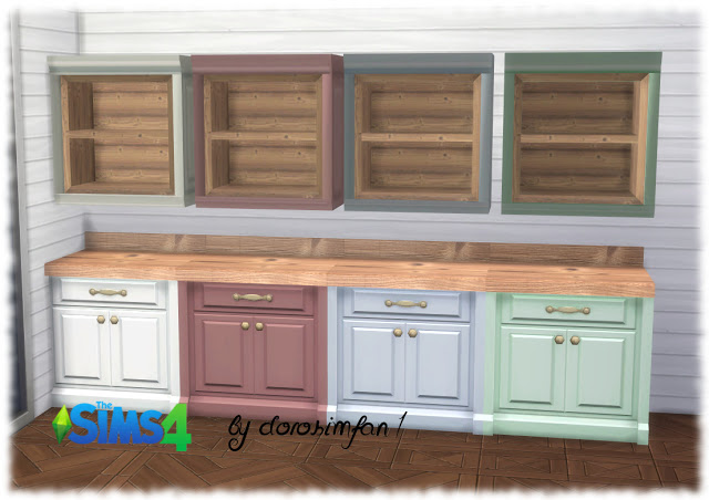 Country house kitchen Deco by dorosimfan1 at Sims Marktplatz image 2193 Sims 4 Updates