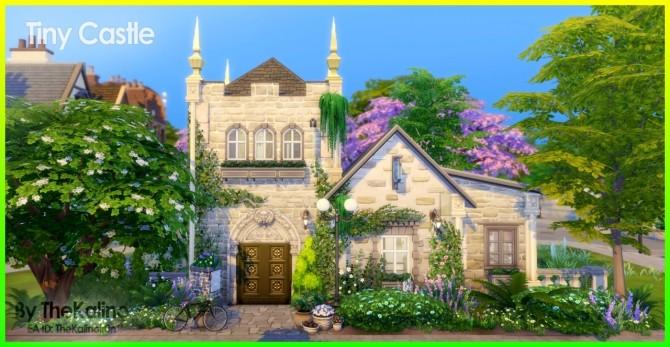 Sims 4 Tiny Castle at Kalino