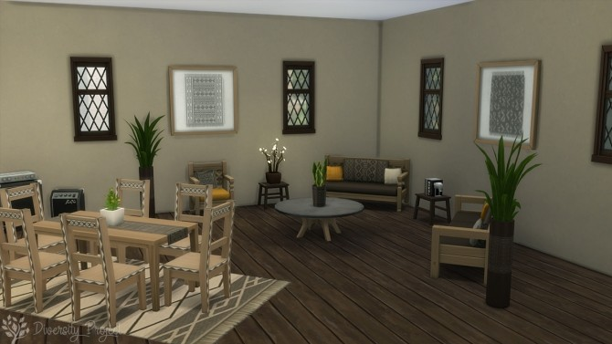 African Living Room at Sims 4 Diversity Project image 22111 670x377 Sims 4 Updates