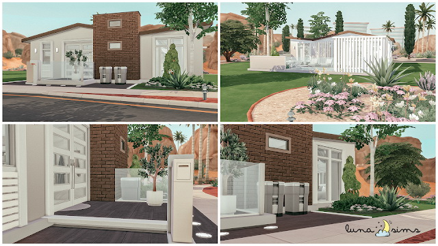 Sims 4 RAFFIA QUINTA Build Renovation at Luna Sims