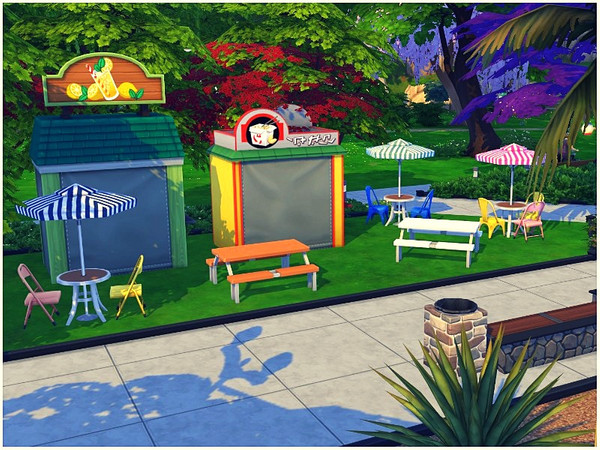 Central Park by lotsbymanal at TSR image 2224 Sims 4 Updates