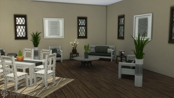 African Living Room at Sims 4 Diversity Project image 2227 670x377 Sims 4 Updates