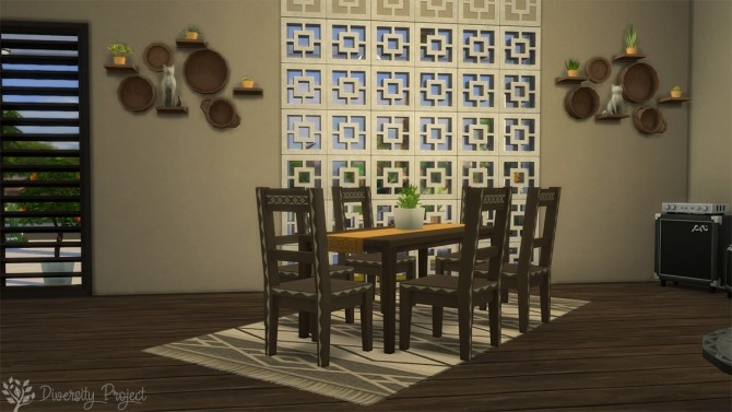 African Living Room at Sims 4 Diversity Project image 2235 670x377 Sims 4 Updates