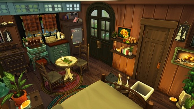 Sims 4 TINY OFF THE GRID HOUSE at Aveline Sims
