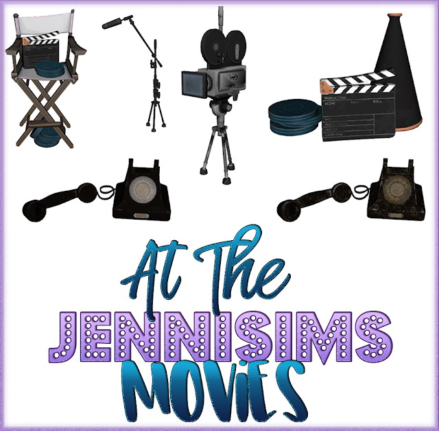 Sims 4 Clutter Movies 5 Items at Jenni Sims