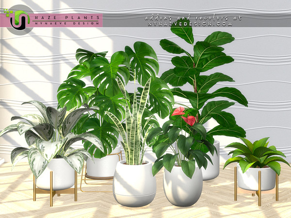 Haze Plants by NynaeveDesign at TSR image 24 Sims 4 Updates