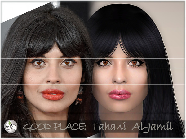 The Good Place   Tahani Al Jamil by BAkalia at TSR image 2420 Sims 4 Updates