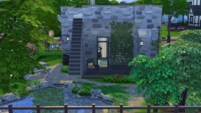 Mini house by fatalist at ihelensims image 2466 670x377 Sims 4 Updates