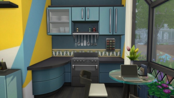 Mini house by fatalist at ihelensims image 2486 670x377 Sims 4 Updates