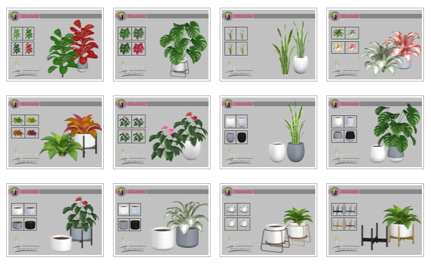 Haze Plants by NynaeveDesign at TSR image 25 Sims 4 Updates