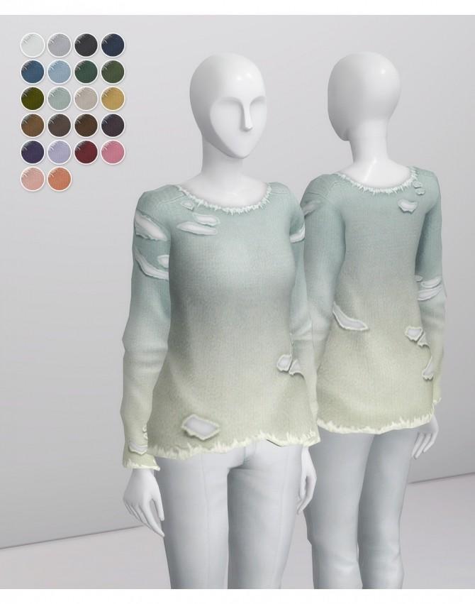 Sims 4 Vintage Sweatshirt F at Rusty Nail