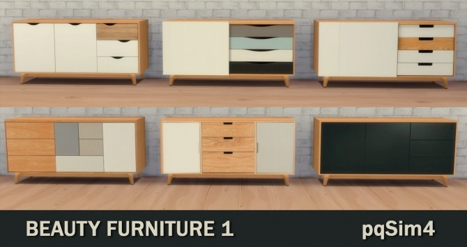 Sims 4 Beauty Furnitures 1 at pqSims4