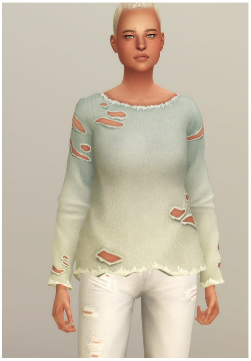 Sims 4 Vintage Sweatshirt F at Rusty Nail