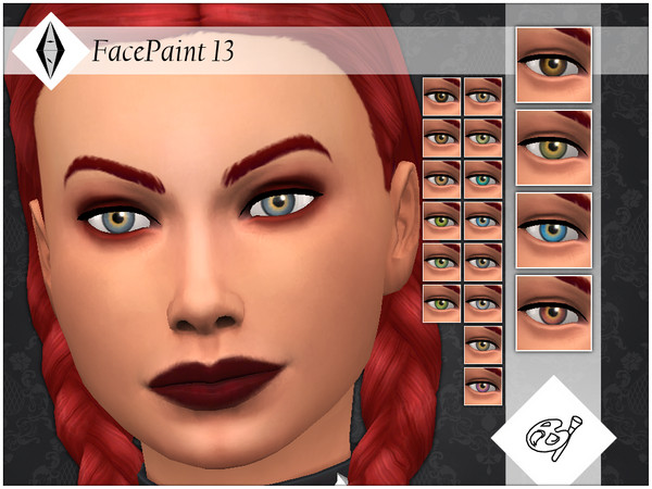 FacePaint 13 by AleNikSimmer at TSR image 2717 Sims 4 Updates