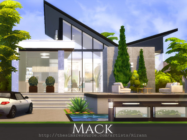 Mack contemporary cottage by Rirann at TSR image 2720 Sims 4 Updates