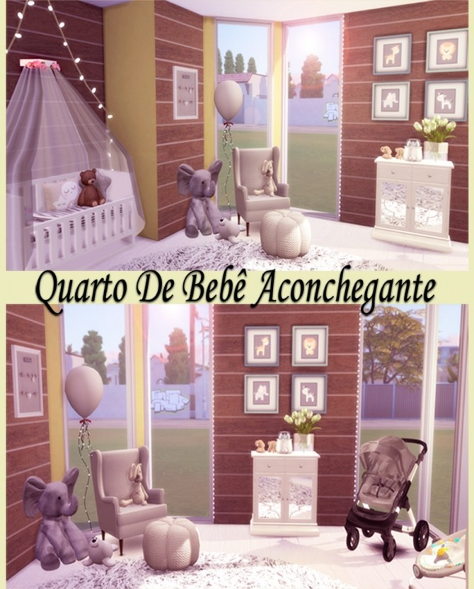 Sims 4 Cozy Baby Room at Lily Sims