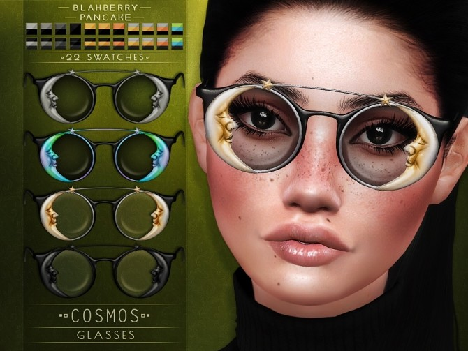 Cosmos glasses at Blahberry Pancake image 2792 670x503 Sims 4 Updates