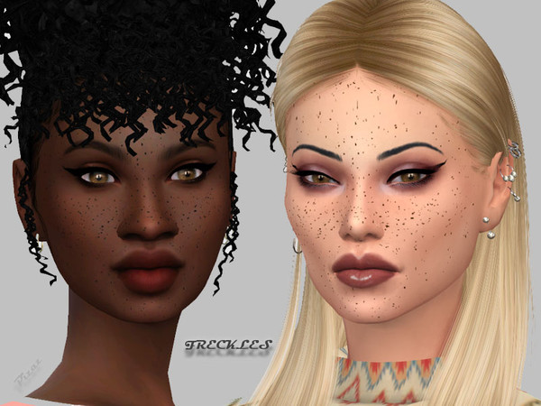 Natural Freckles by pizazz at TSR image 2811 Sims 4 Updates