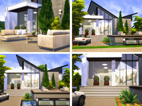 Mack contemporary cottage by Rirann at TSR image 2817 Sims 4 Updates