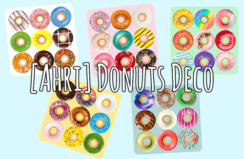 Donuts Deco at Ahri Sim4 image 2841 Sims 4 Updates