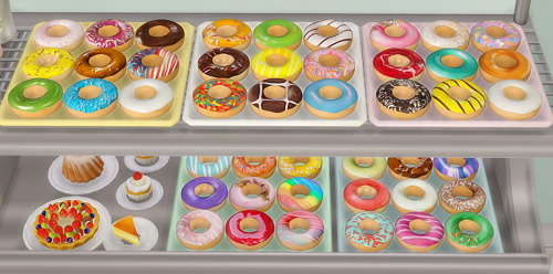 Donuts Deco at Ahri Sim4 image 2861 Sims 4 Updates
