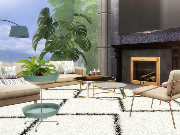 Mack contemporary cottage by Rirann at TSR image 3018 Sims 4 Updates