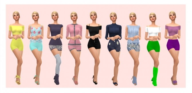 EP01 HIGH WAISTED SHORTS at Sims4Sue image 302 670x324 Sims 4 Updates