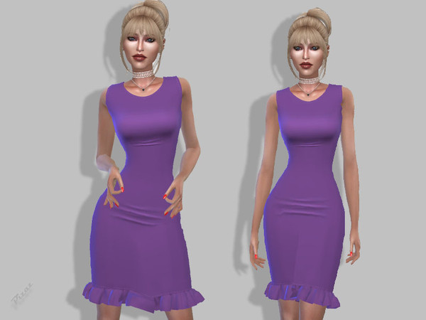 Sims 4 Casual Wear dress by pizazz at TSR