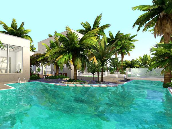 Island Villa by Sarina Sims at TSR image 3108 Sims 4 Updates