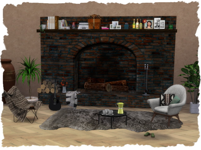 FAB fireplace 1 by Chalipo at All 4 Sims image 312 Sims 4 Updates
