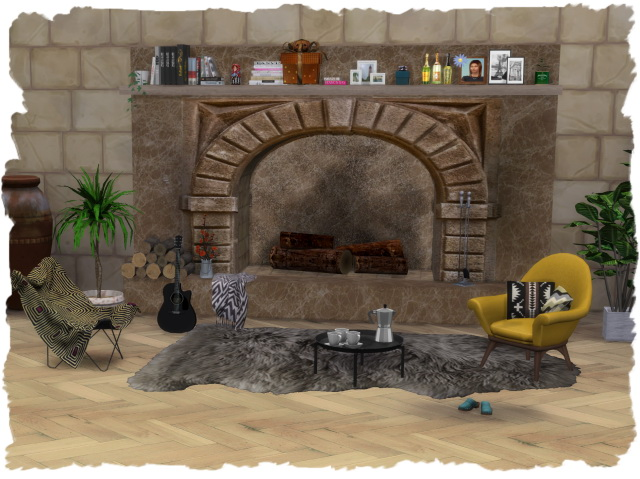 FAB fireplace 1 by Chalipo at All 4 Sims image 313 Sims 4 Updates