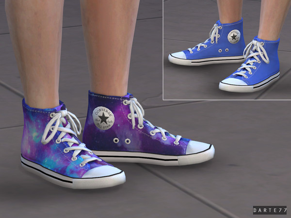 Sims 4 All Star Sneakers by Darte77 at TSR