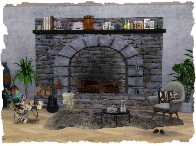 FAB fireplace 1 by Chalipo at All 4 Sims image 314 Sims 4 Updates