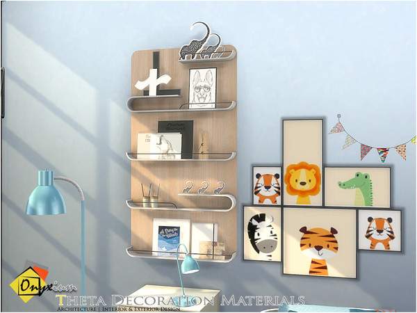 Theta Decoration Materials by Onyxium at TSR image 3231 Sims 4 Updates