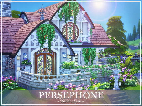Persephone fantasy style cottage by Xandralynn at TSR image 3324 Sims 4 Updates