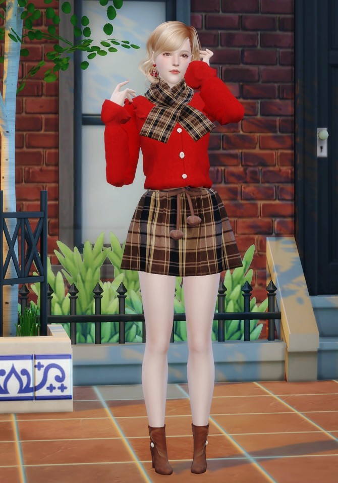 Emma at Vicky SweetBunny image 340 670x957 Sims 4 Updates
