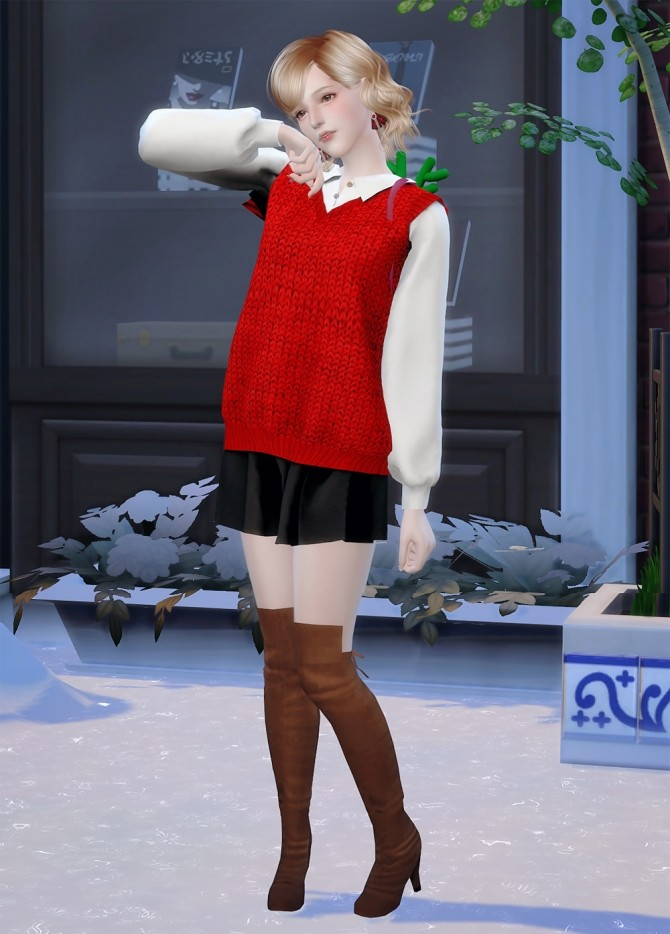 Emma at Vicky SweetBunny image 341 670x934 Sims 4 Updates