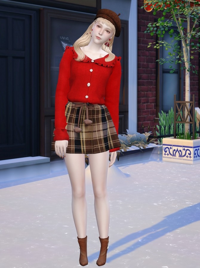 Emma at Vicky SweetBunny image 342 670x897 Sims 4 Updates