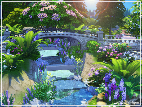 Persephone fantasy style cottage by Xandralynn at TSR image 3425 Sims 4 Updates