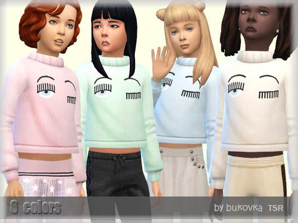 Sweater Eyes by bukovka at TSR image 3519 Sims 4 Updates