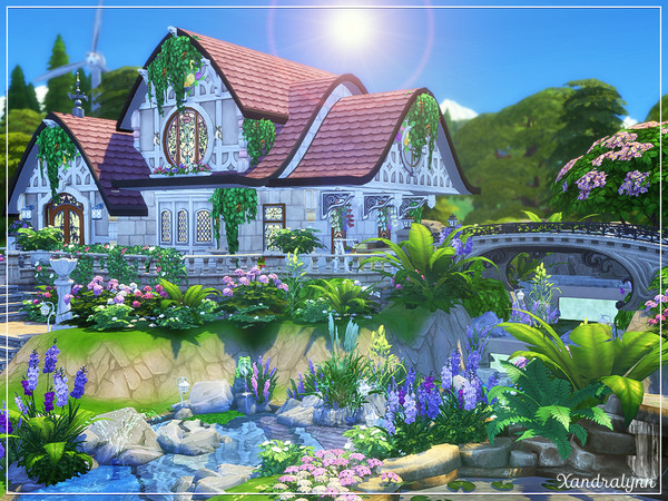 Persephone fantasy style cottage by Xandralynn at TSR image 3523 Sims 4 Updates