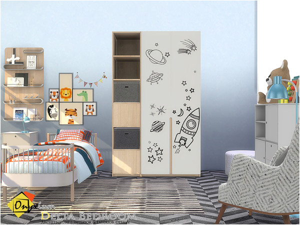 Delta Bedroom by Onyxium at TSR image 3526 Sims 4 Updates