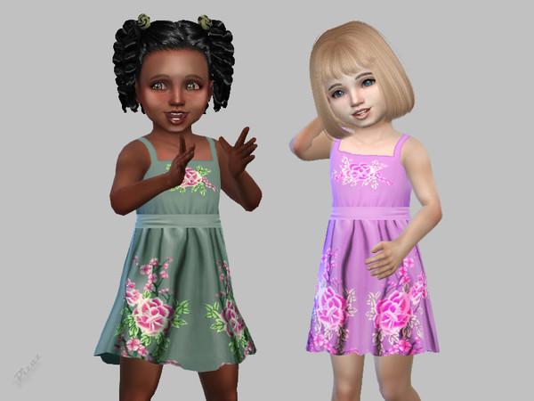 Sims 4 Toddler Dress 04 by pizazz at TSR