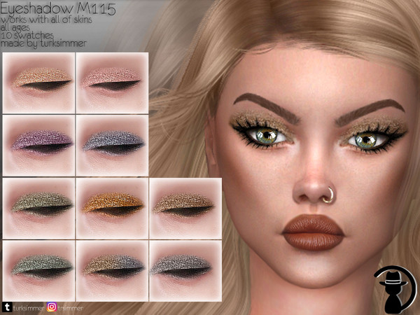 Sims 4 Eyeshadow M115 by turksimmer at TSR