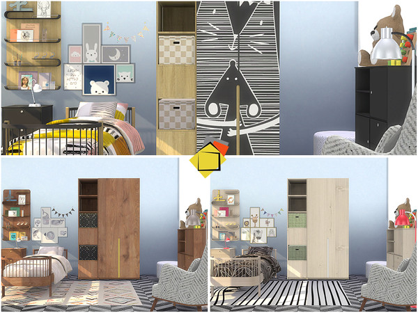 Sims 4 Delta Bedroom by Onyxium at TSR