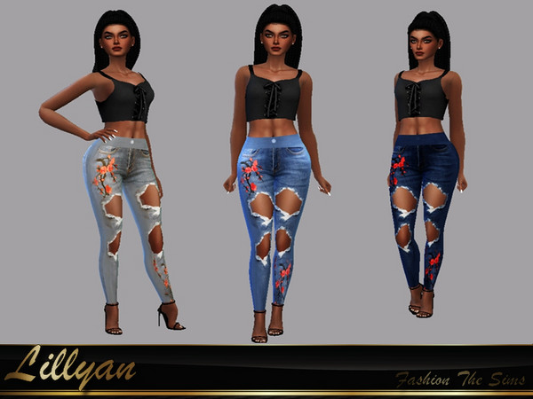 Ellen Jeans by LYLLYAN at TSR image 3629 Sims 4 Updates