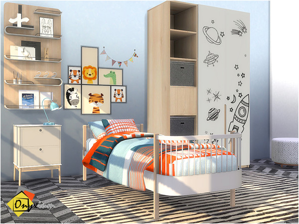 Delta Bedroom by Onyxium at TSR image 3728 Sims 4 Updates