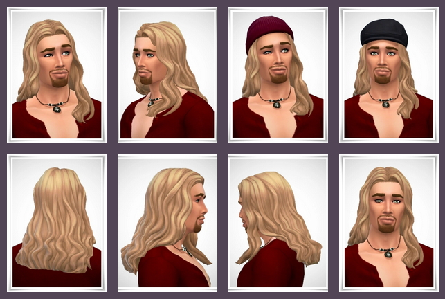 Sims 4 Leslie Hair male at Birksches Sims Blog