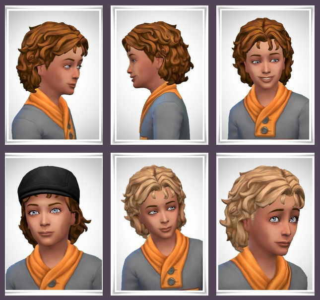 Jamie Hair Kids version at Birksches Sims Blog image 376 Sims 4 Updates