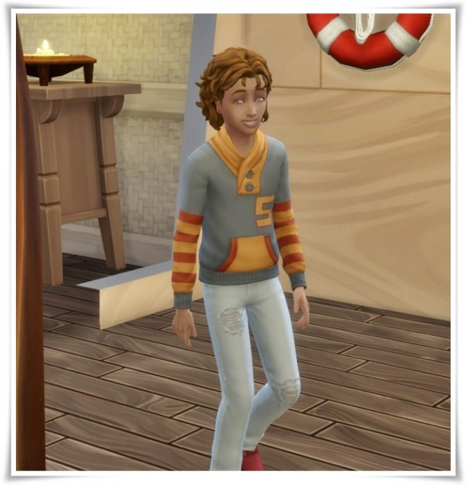 Jamie Hair Kids version at Birksches Sims Blog image 377 670x698 Sims 4 Updates